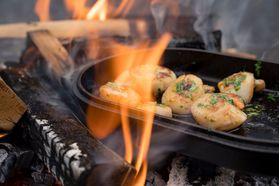 Ooni専用キャストアイアンシズラーパン ポータブルピザ窯 家庭用 アウトドア オーブンウニOoni Cast Iron Sizzler Pan