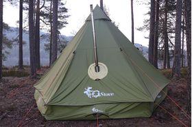 テント ジーストーブTIPI テントプロテクター  G-Stove Fireproof exit for Tentprotector 正規輸入品
