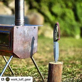 【送料無料】薪ストーブ ワークタフキャンプストーブ WorkTuff Camp Stove 380