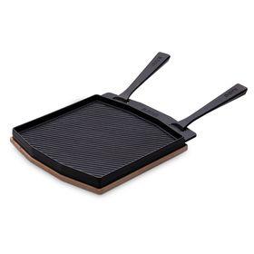 Ooni専用デュアルサイドグリズラープレート ポータブルピザ窯 家庭用 アウトドア オーブンウニOoni Dual-Sided Grizzler Plate