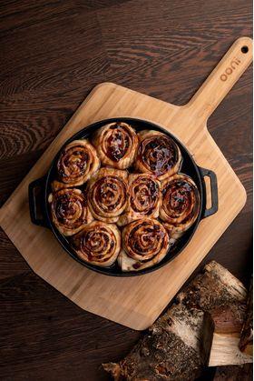 Ooni専用キャストアイアンスキレットパン ポータブルピザ窯 家庭用 アウトドア オーブンウニOoni Cast Iron Skillet Pan